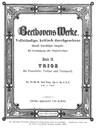 Piano Trio in E-flat major
