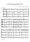 Quatuor à Cordes en Mi bémol majeur, No.6