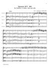 Quintette pour Clarinette et 2 Violons, Alto et Violoncelle