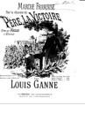 Marche française sur la chanson 'Le père la victoire'