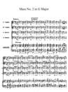 Messe No.2 en Sol majeur