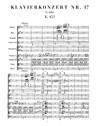 Piano Concerto No.17 en Sol Majeur