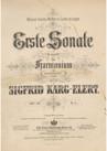 Harmonium Sonata No.1
