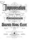 """Improvisation """"Ostinato e fughetta"""""""