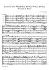 Concerto Per Mandolino, Violino Primo, Violino Secondo e Basso (Gimo 297)