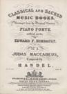 Airs and Choruses (de Judas Maccabaeus)