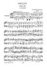 Paulus (Vocal score)