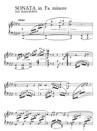 Piano Sonata in F