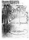 Mefistofele (vocal score)
