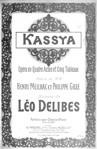 Kassya (vocal score)