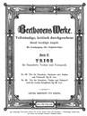 """Trio pour Clarinette, Violoncelle et Piano No.4 """"Gassenhauer"""""""