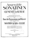 Sonatine No.1