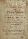 Gradus ad Parnassum (Traité de Composition Musicale)
