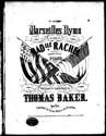 The Celebrated Marseilles Hymn (G major)