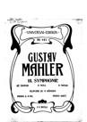 """Symphonie No.3 """"Dritte Symphonie"""""""