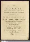 6 Trio Sonatas