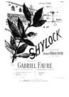 Shylock (vocal score)