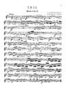 Trio en Do majeur