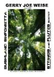 Weise, Gerry Joe: Bushland Sinfonietta for Strings and Flutes