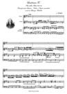 Laudamus Te. Dalla Messa in Si minore. TRASCRIZIONE per Soprano, Violino e Organo manualiter.