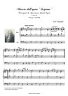 """March from """"Scipio"""". Organ transcription"""