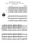 """Aria: """"Sheep may safely graze"""" - """"Schafe können sicher weiden"""". Trascrizione da Concerto per 4 Flauti e Grande Organo obbligato (Score&Parts)"""