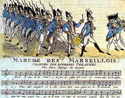 Balbastre, Claude: Marche des Marseillois et l