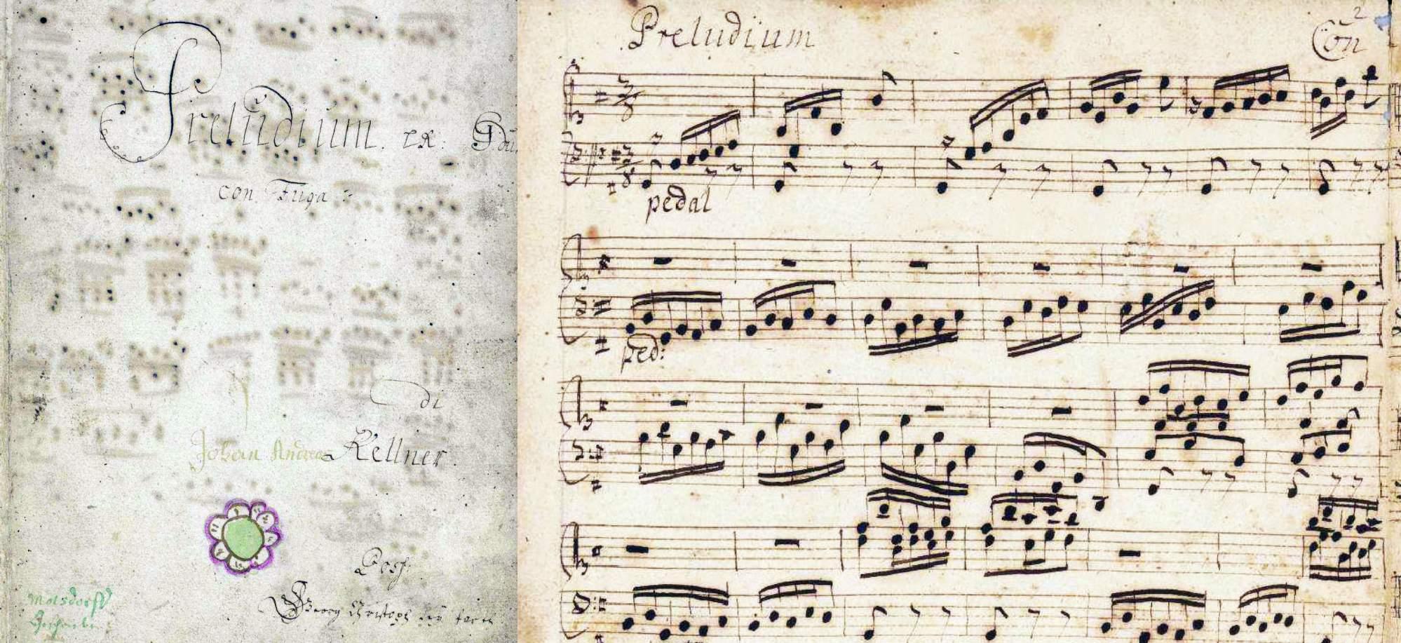 Kellner, Johann Andreas: Präeludium con Fuga