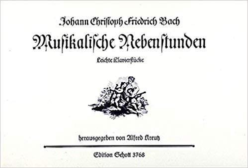Bach, Johann Christoph Friedrich: Präeludium e-moll