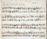 Bach, Johann Sebastian: ARIA: Ich ruf zu dir, Herr Jesu Christ. Source: Yale University, Irving S. Gilmore Music