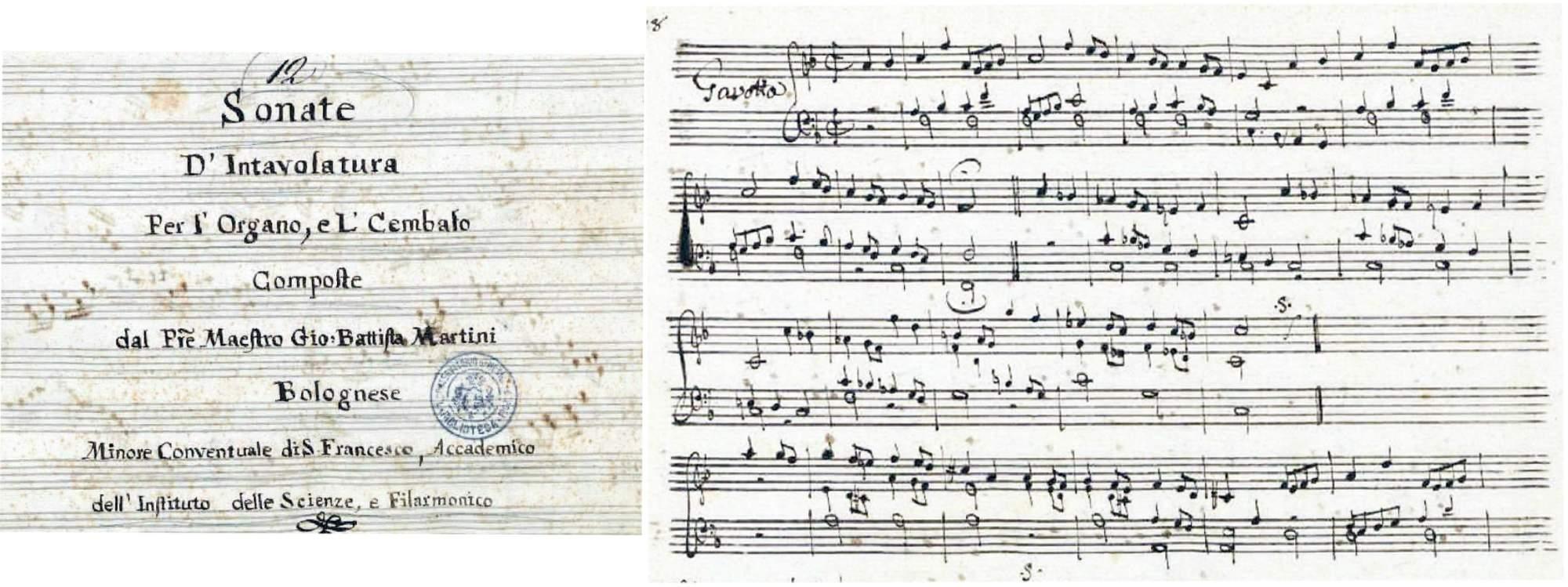 Martini, Giovanni Battista: Celebre Gavotta. Organ transcription by A. Guilmant (1837-1911)
