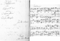 "Kellner, Johann Peter: ""Praeludium con Fuga ex F dur pro Organo Pleno con Pedale obligato"""