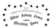 Anonymous: When Johnny Comes Marching Home