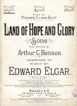 Elgar, Edward: Hymn: Land of Hope and Glory. Pratical organ transcription for Church Service