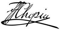 Chopin, Frédéric: Prélude. Organ transcription for Church Service.