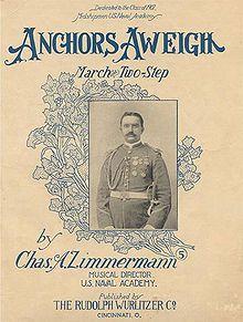 Zimmermann,Charles A. : Anchors Aweigh