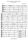 Prelude & Fugue For Strings & BC No. 2