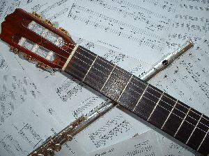 Compositions pour flûte & guitare