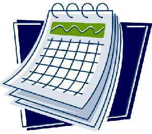 Le calendrier de Guy Bergeron