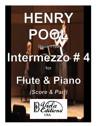 Intermezzo for Flute & Piano (Score & Part)