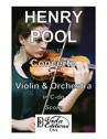 Concerto for Violin & Orchestra in C-do (Score)
