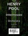 Opus 140, Intermezzo for Orchestra in G-do (Score)