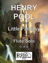 Opus 147, Little Fantasy for Flute Solo in A-la