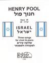 """Israel"", Three Songs for Choir & Piano (Hebrew Lyrics)"