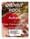 Aubade for Flute, Clarinet & Piano (Score & Parts)