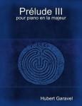 Garavel, Hubert: Prélude III pour piano en la majeur