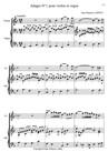 Adagio n°1 pour violon et orgue