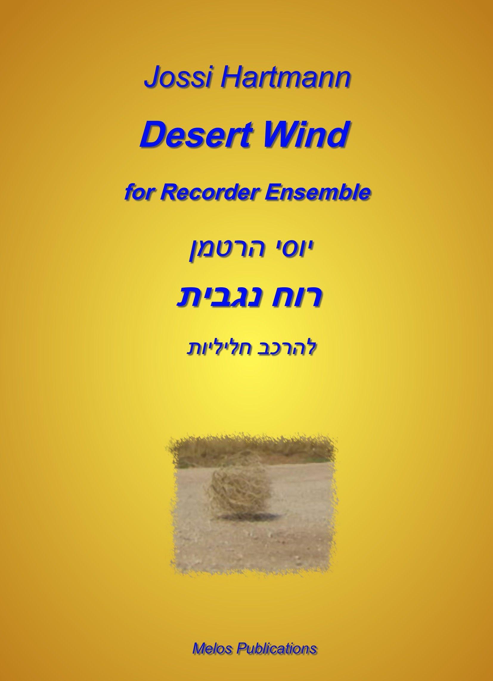 Hartmann, Joseph: Desert Wind