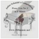 Schmidt, Julius: Piano trio No 1 in fa mineur