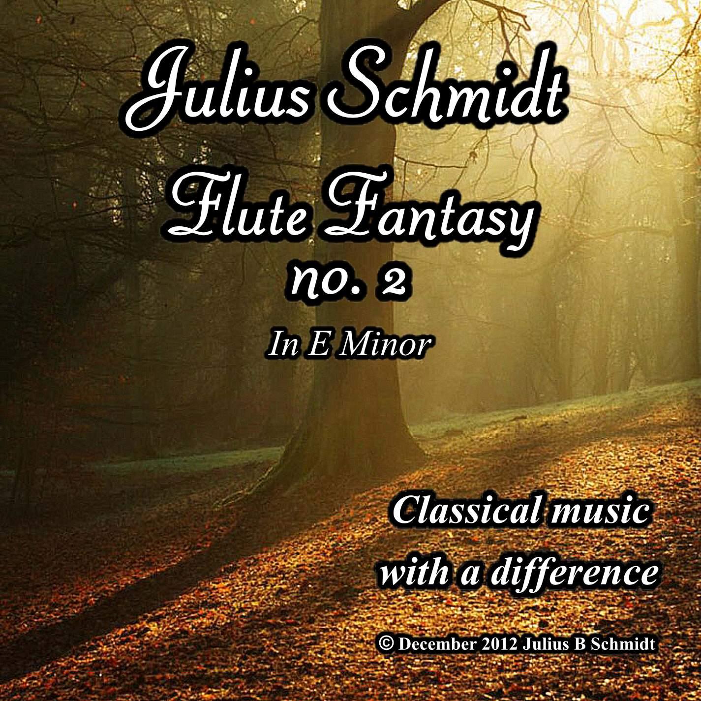 Flute Fantasy No 2 in E minor